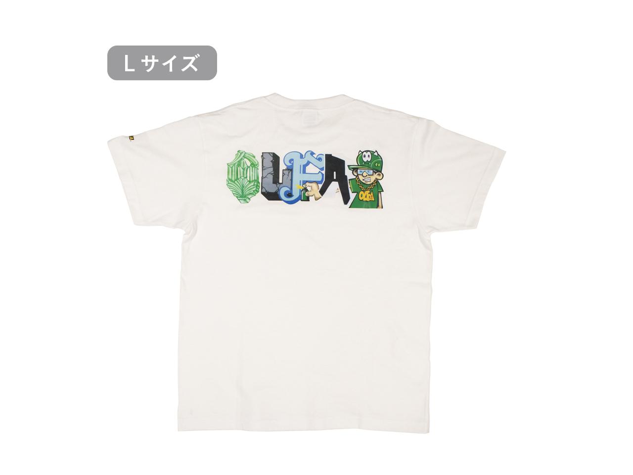 OLFAグラフィティアートTシャツ(Lサイズ)
