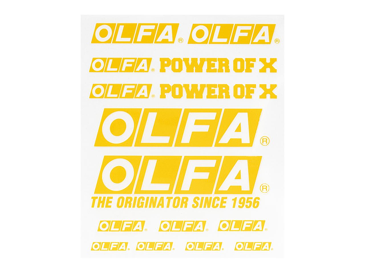 OLFAステッカー(イエロー)