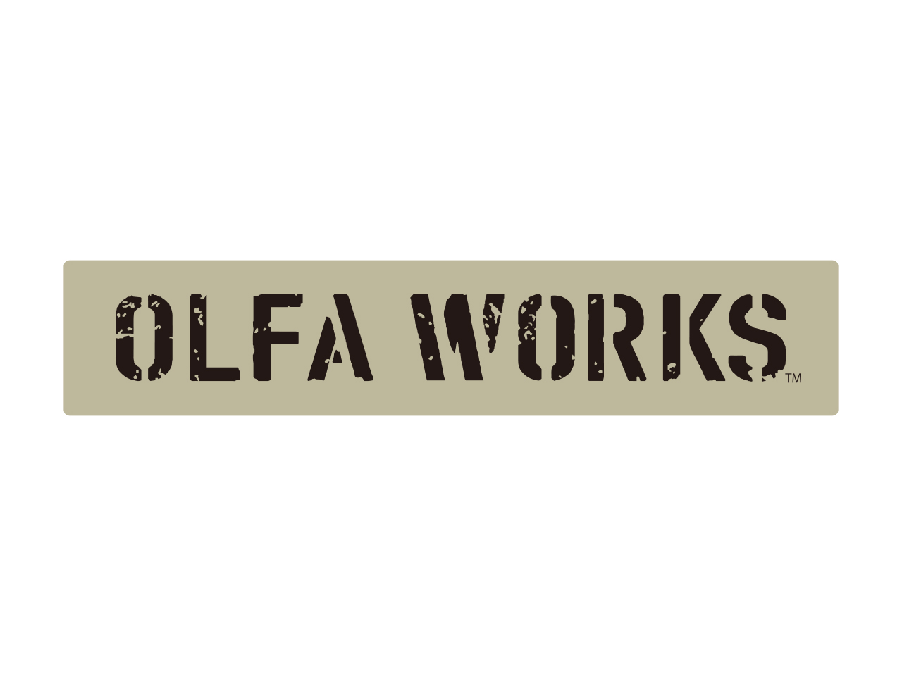 OLFA WORKSマットステッカー